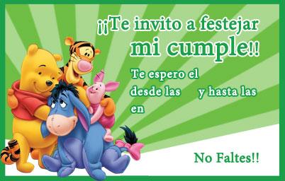 invitacion infantil fiesta: