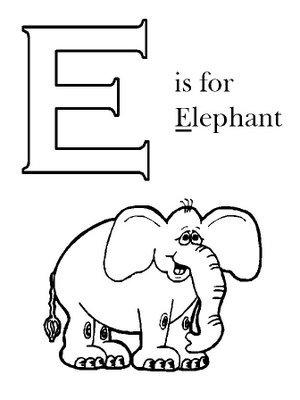 Fichas de inglés para niños - abecedario inglés - A a E