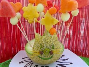 recetas verano 300x226 Receta con frutas para niños especial verano y fiestas