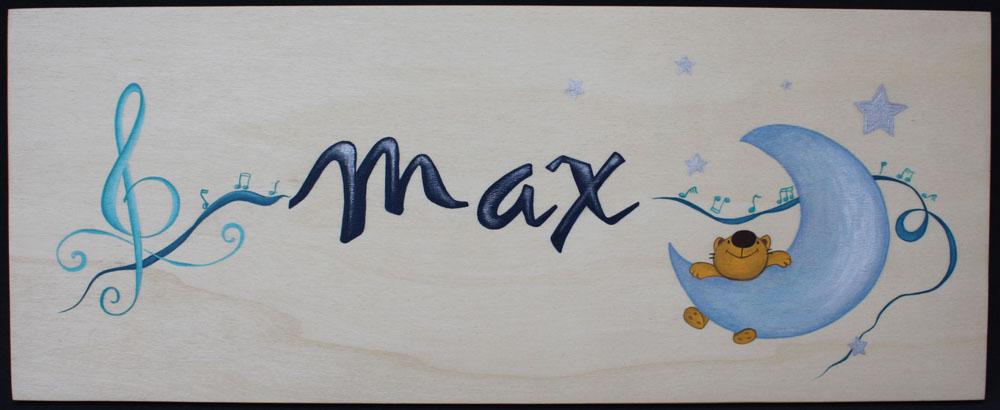 ... para infantil1 300x123 Cuadros decorativos con nombre para niños