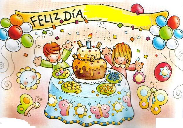 ... 300x210 Cumpleaños infantil, tarjeta de felicitación para niños