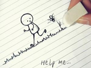 Help me 300x225 Wallpaper gratis para descargar – dibujo infantil help me – fondos de pantalla gratis