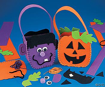 Bolsas Para Guardar Caramelos En Halloween     Manualidad Para Ni  Os