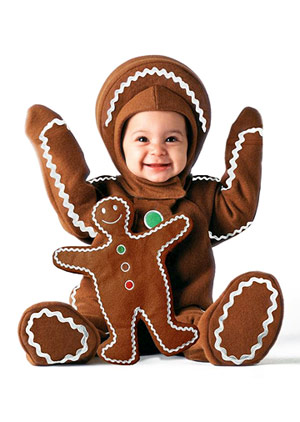Disfraces de halloween para bebes galleta de jenjibre - Disfraces bebe halloween ...