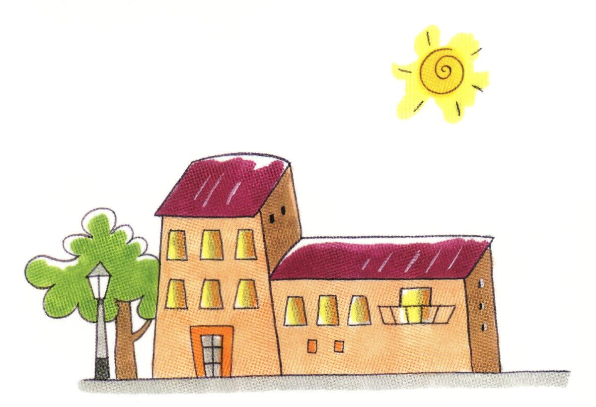 Aprender las estancias de una casa para preescolar for Casa para patio ninos