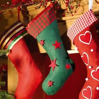 Como Decorar Calcetines Para Navidad.Manualidad Calcetines De Navidad Para Hacer Con Ninos