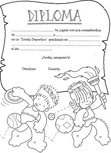 diplomas para imprimir. diplomas para imprimir - Los