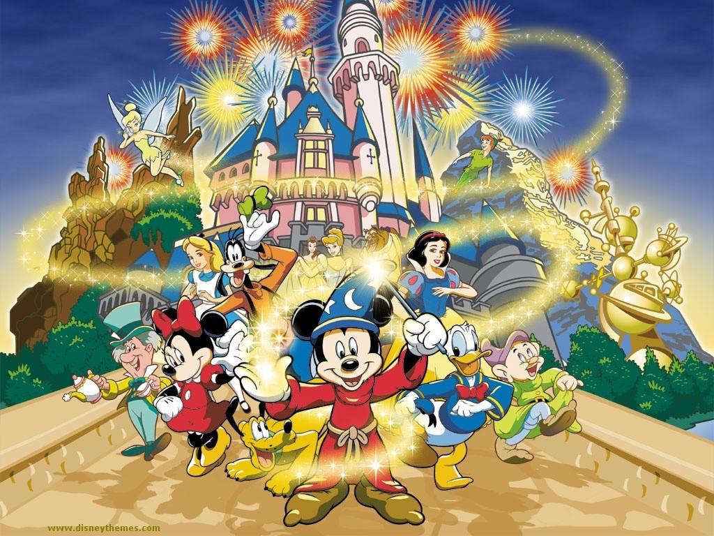 Walt Disney 300x225 Castillo y la familia Disney para infantil