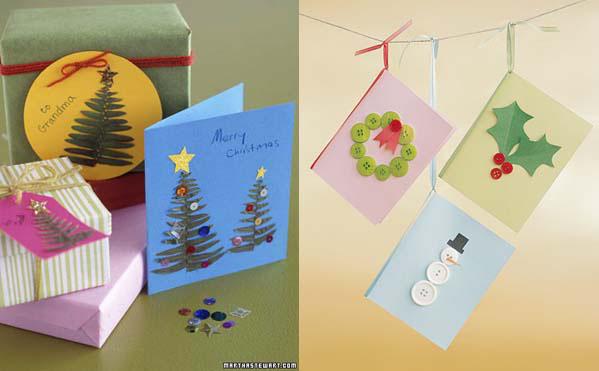 Postales de navidad originales para hacer en casa - Hacer una postal de navidad ...