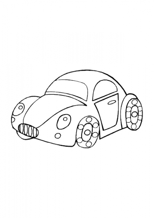 toy cars coloring pages - photo#16