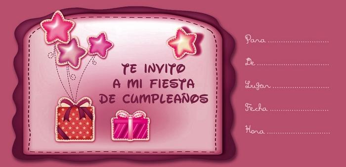 Invitación De Cumpleaños Infantil