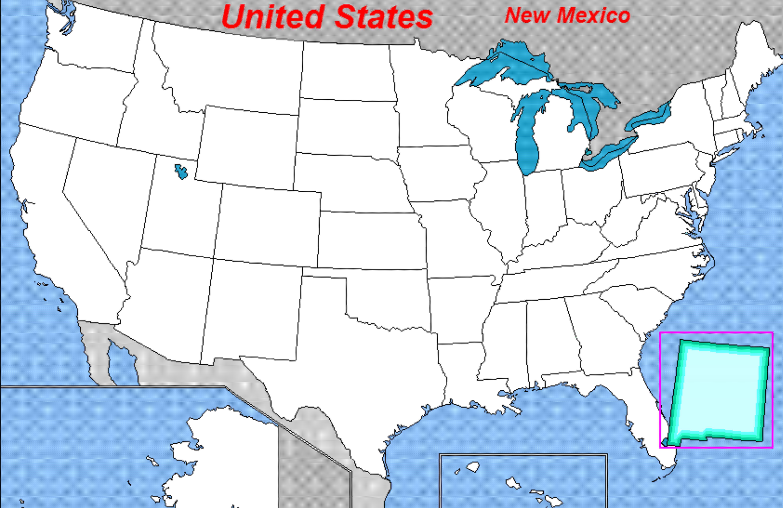 puzzle de Norte America