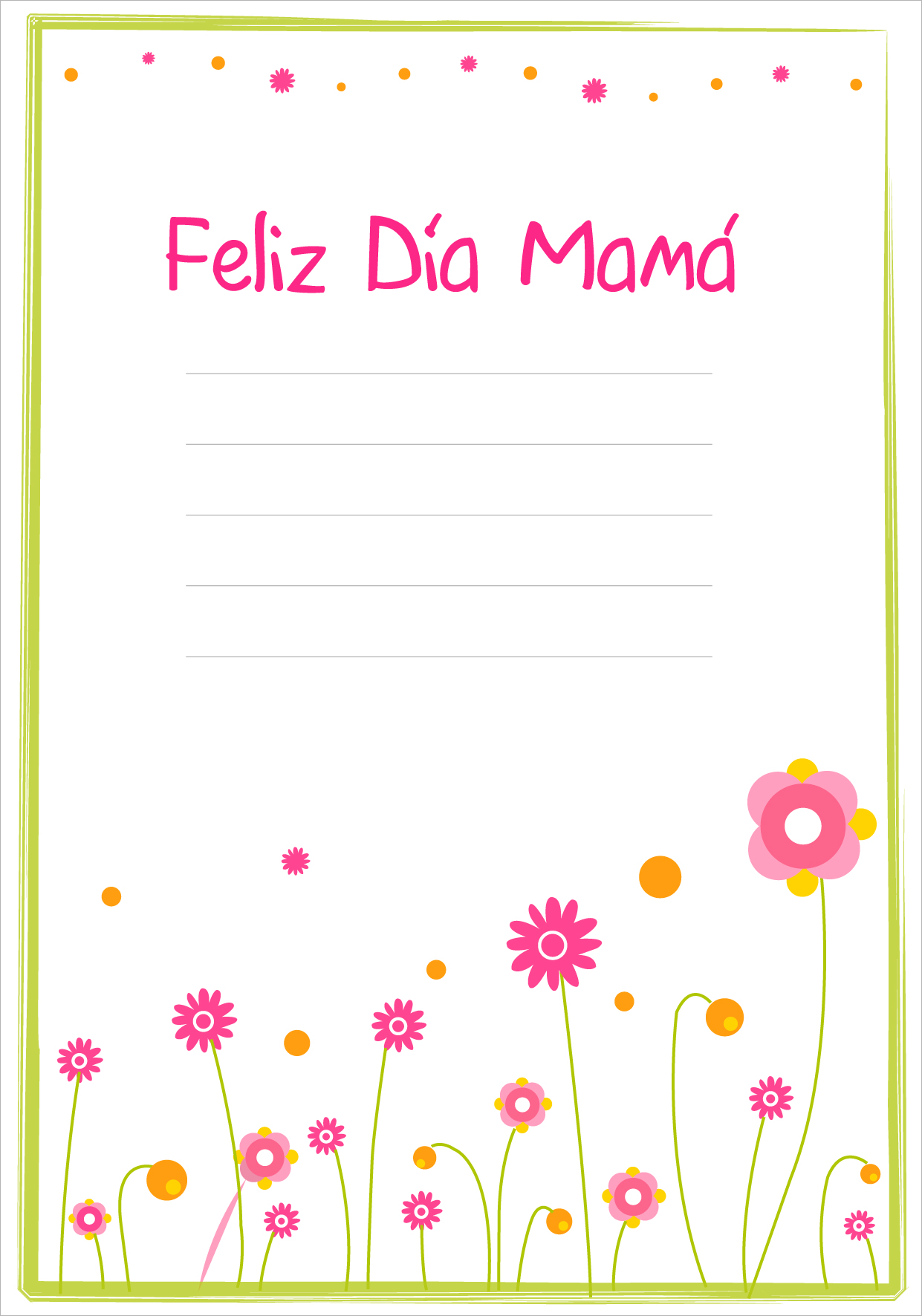 Tarjetas Del DIA De Las Madres