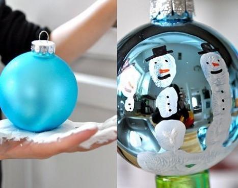 Decorar bolas de navidad en casa - Como decorar bolas de navidad ...