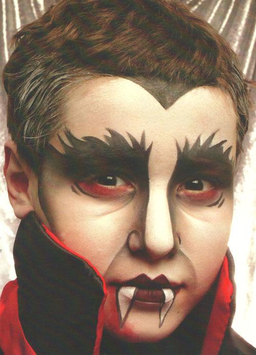 Imagenes De Baños Animados:Maquillaje Para Halloween De Vampiros