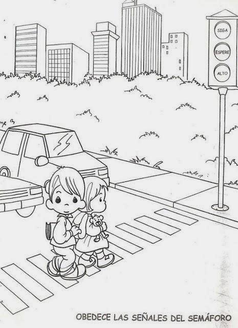 trabajar las normas de seguridad vial con los niños y niñas