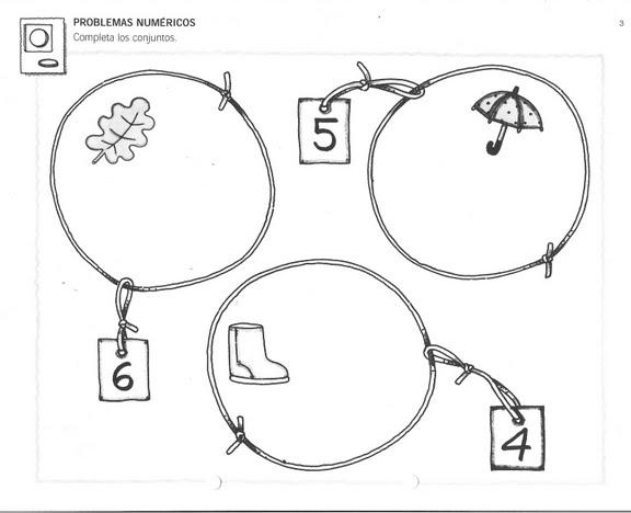 Actividad matemática para niños de primaria