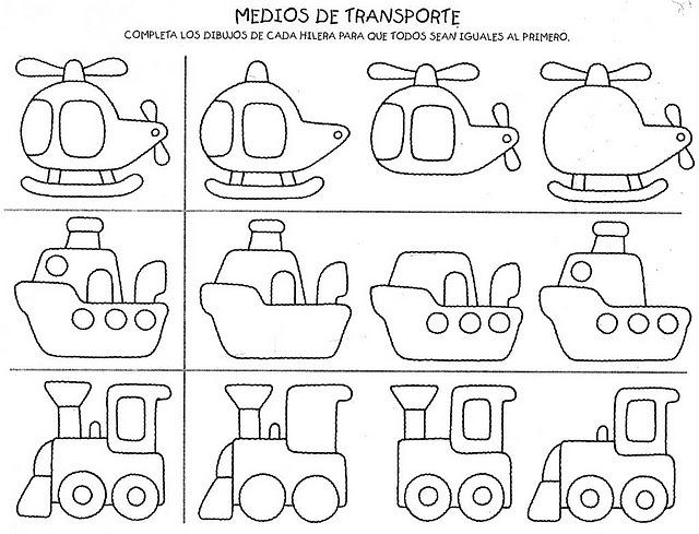 Los Medios De Transporte Para Ninos De Educacion Infantil