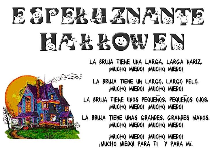 Poesía terrorífica de halloween