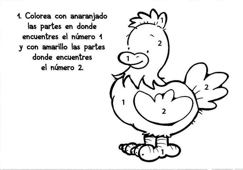 Fichas Infantiles Para Colorear E Imprimir infantil