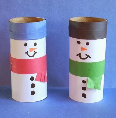 Manualidades navide as for Figuras de nieve navidenas