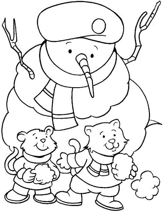 Dibujo navide o para colorear - Dibujos navidenos para ninos ...