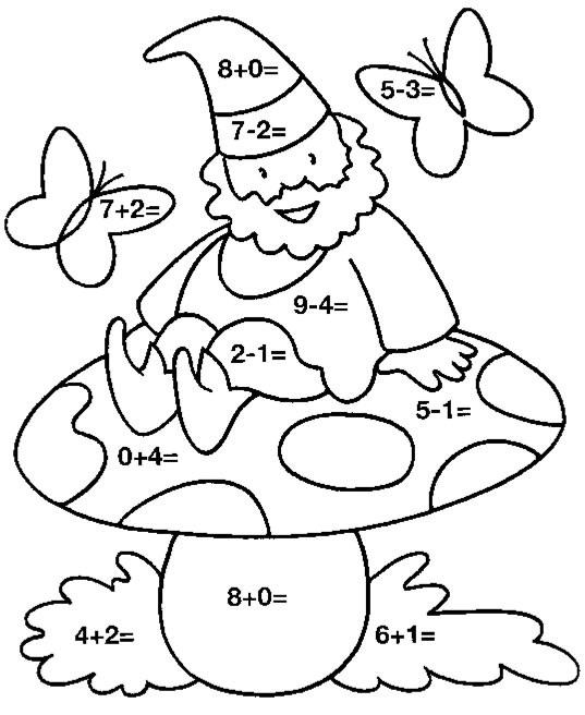 Sumas simples para niños de educación primaria