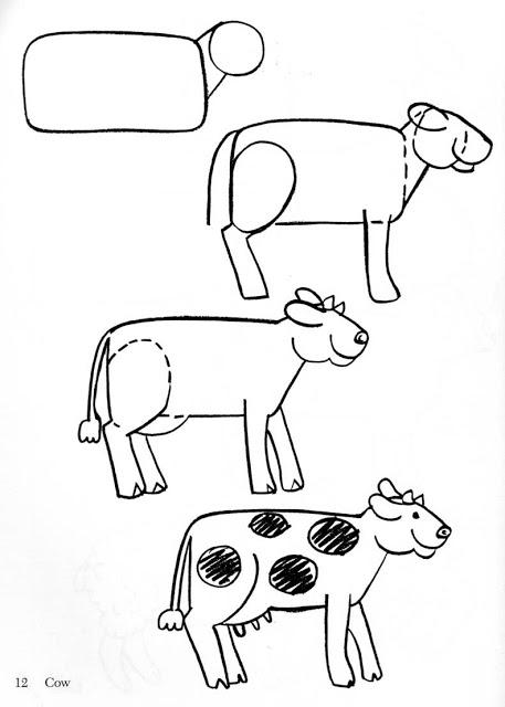 Aprender A Dibujar Animales De Granja