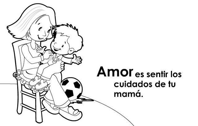 Cartel Del Valor Del Amor Para Niños
