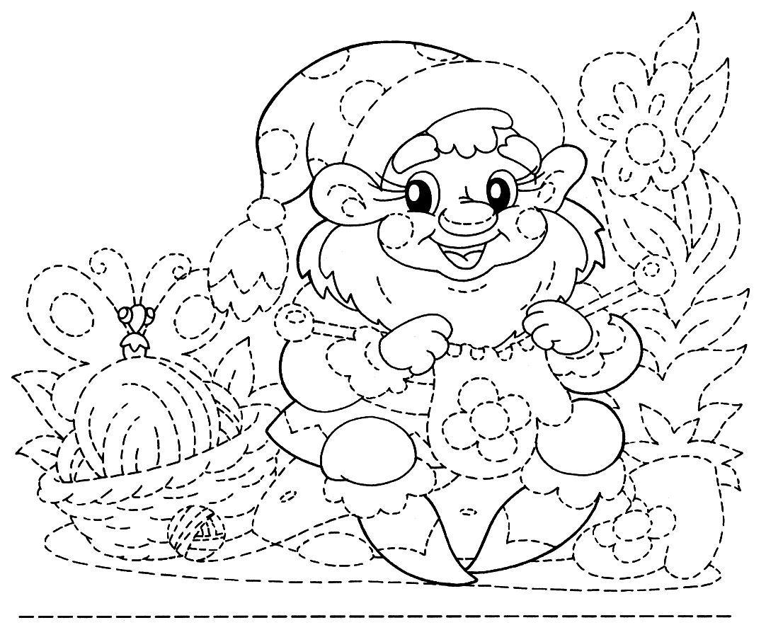 Dibujo De Grafomotricidad Avanzada Para Niños