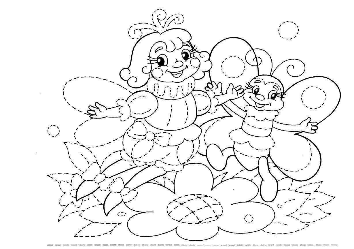best Dibujos De Puntos Y Lineas Para Colorear image collection