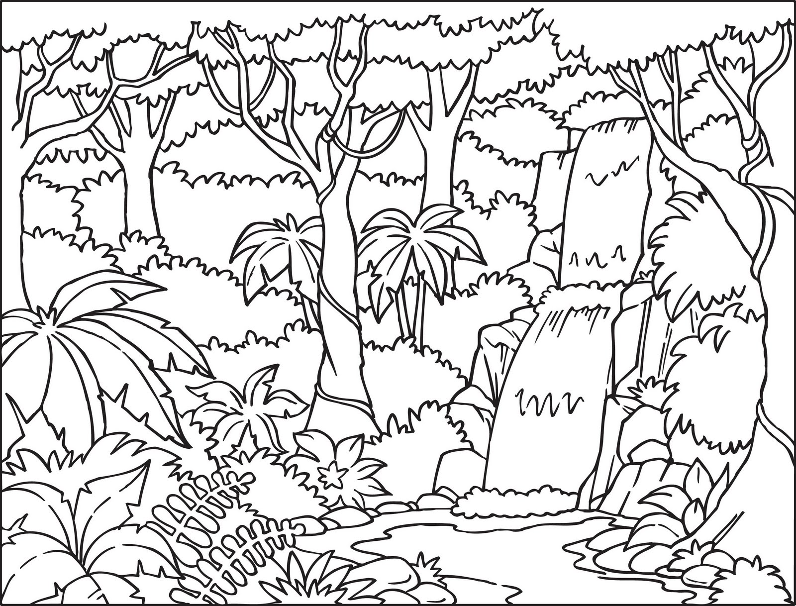 ocean background coloring pages with no animals - photo #26