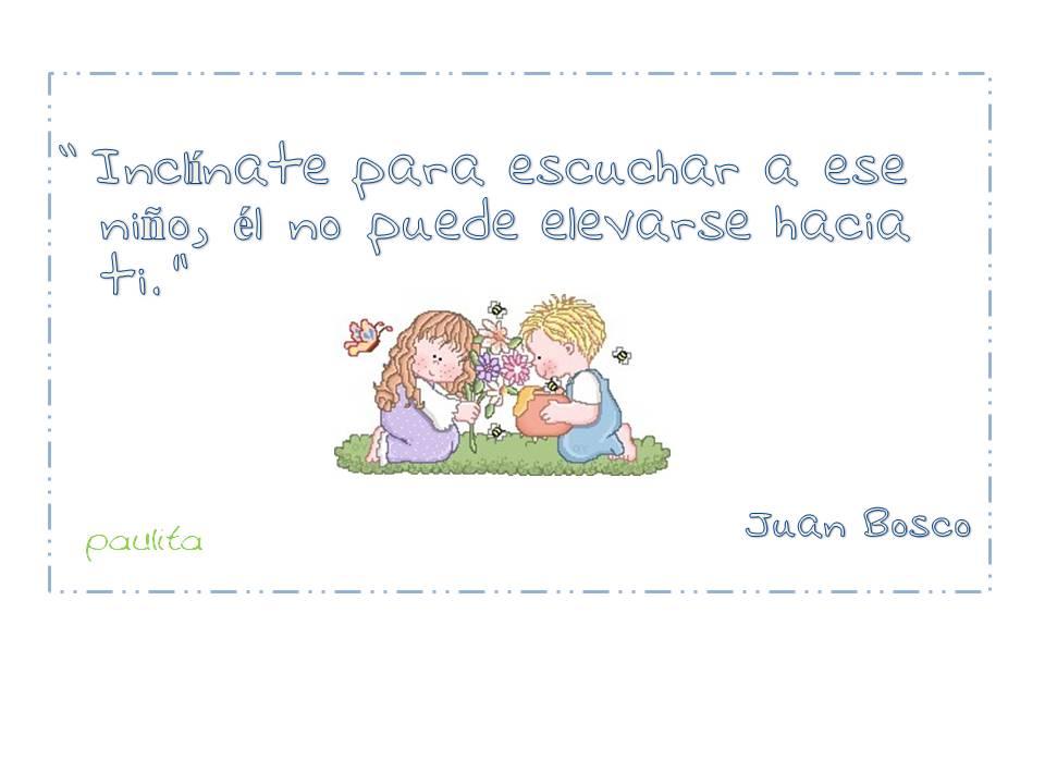 Frase Bonita Para Reflexionar Con Niños