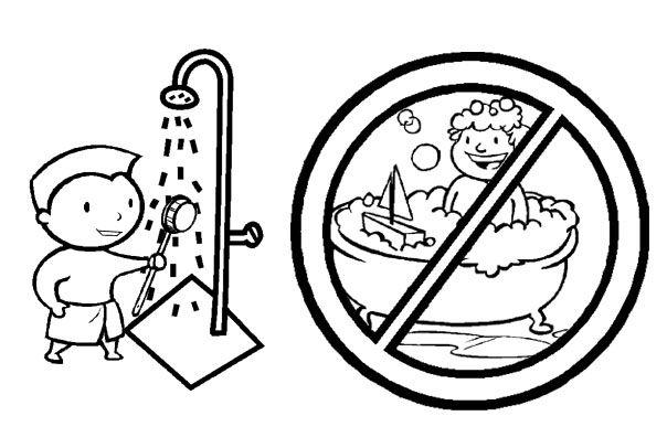 Cartel para fomentar el ahorro del agua en los escolares for Llave tirando agua