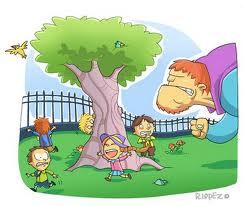 Cuento infantil el gigante egoista para ni os for El jardin del gigante