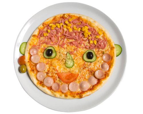 Como hacer que una pizza sea m s divertida para ni os for Como preparar comida para ninos