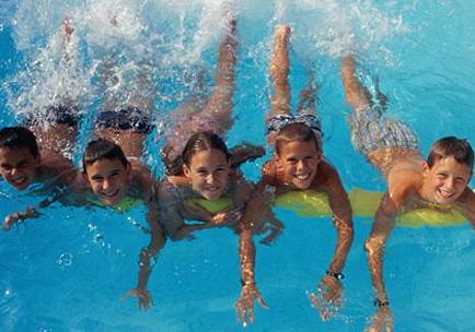 Imagenes niños en piscina - Imagui