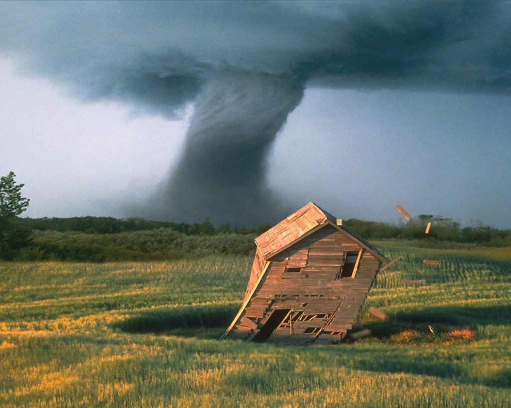Que es un tornado? Fenómeno atmosferico