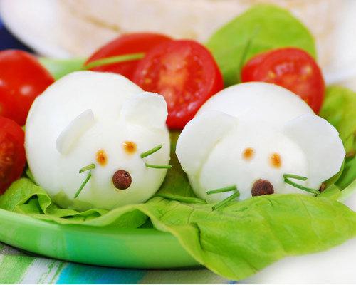 Ensalada divertida para ni os alimentaci n saludable for Como preparar comida para ninos