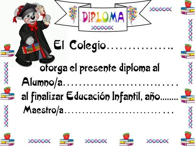 Diplomas para niños de kinder - Imagui