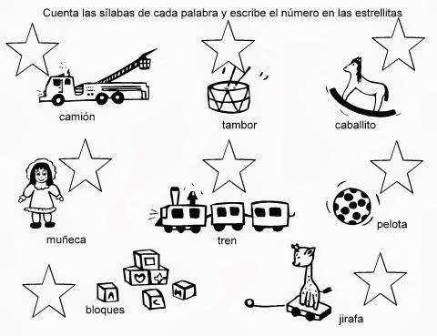 Las Sílabas Para Niños De Primaria Cucaluna